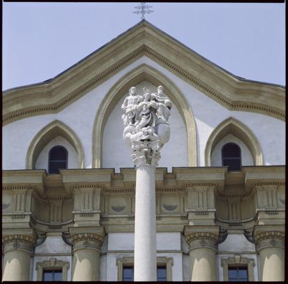 Ljubljana - Cerkev sv. Trojice, fotografija