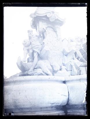 Ljubljana - Robbov vodnjak, fotografija