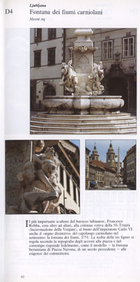 Ljubljana - Fontana dei fiumi carniolani